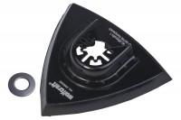 Wolfcraft Priľnavá doska trojhran 95mm pre brúsne listy 3996000