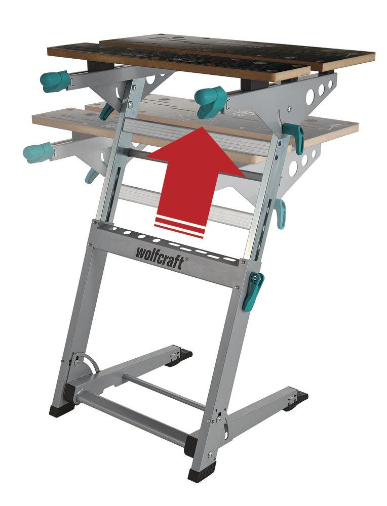 Pracovný stol Master cut 700 Wolfcraft 6908000