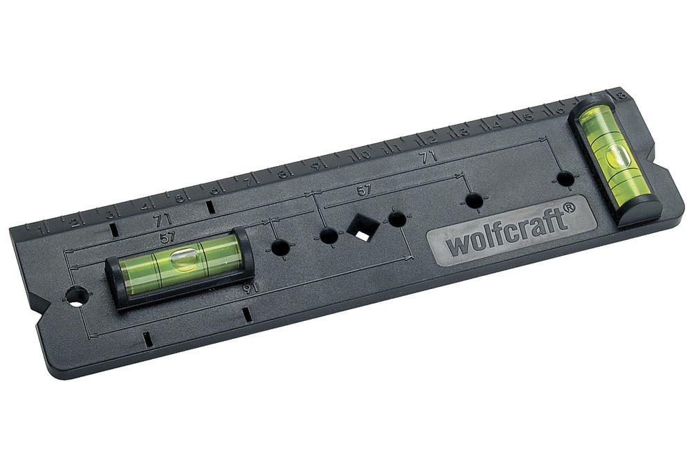 Wolfcraft šablóna pre krabice v stene 4050000