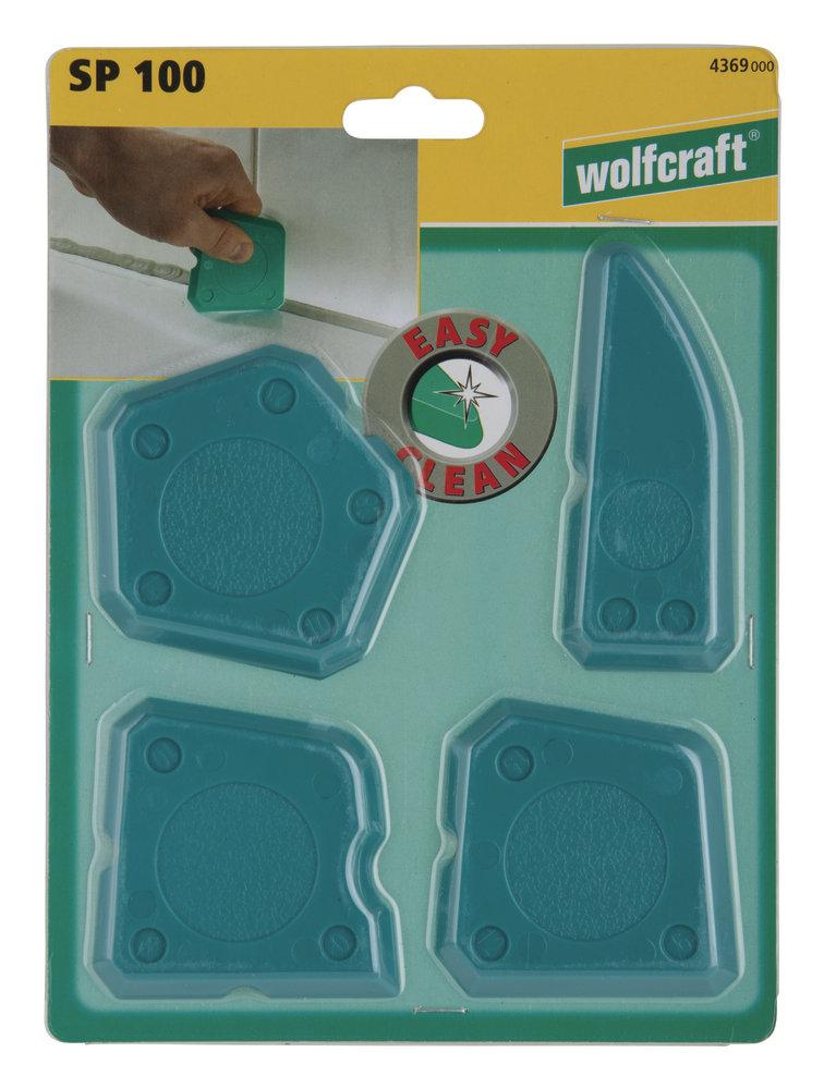 Wolfcraft SP100 Sada 4 dilatačných hladítok 4369000