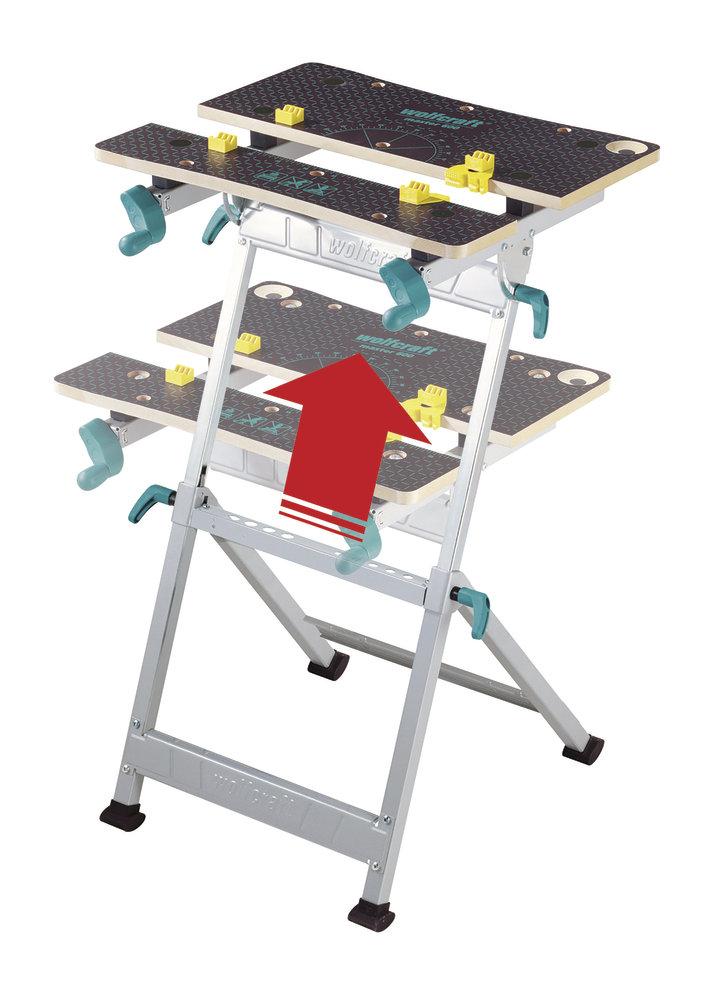 Wolfcraft upínací stôl Master 600 6182000