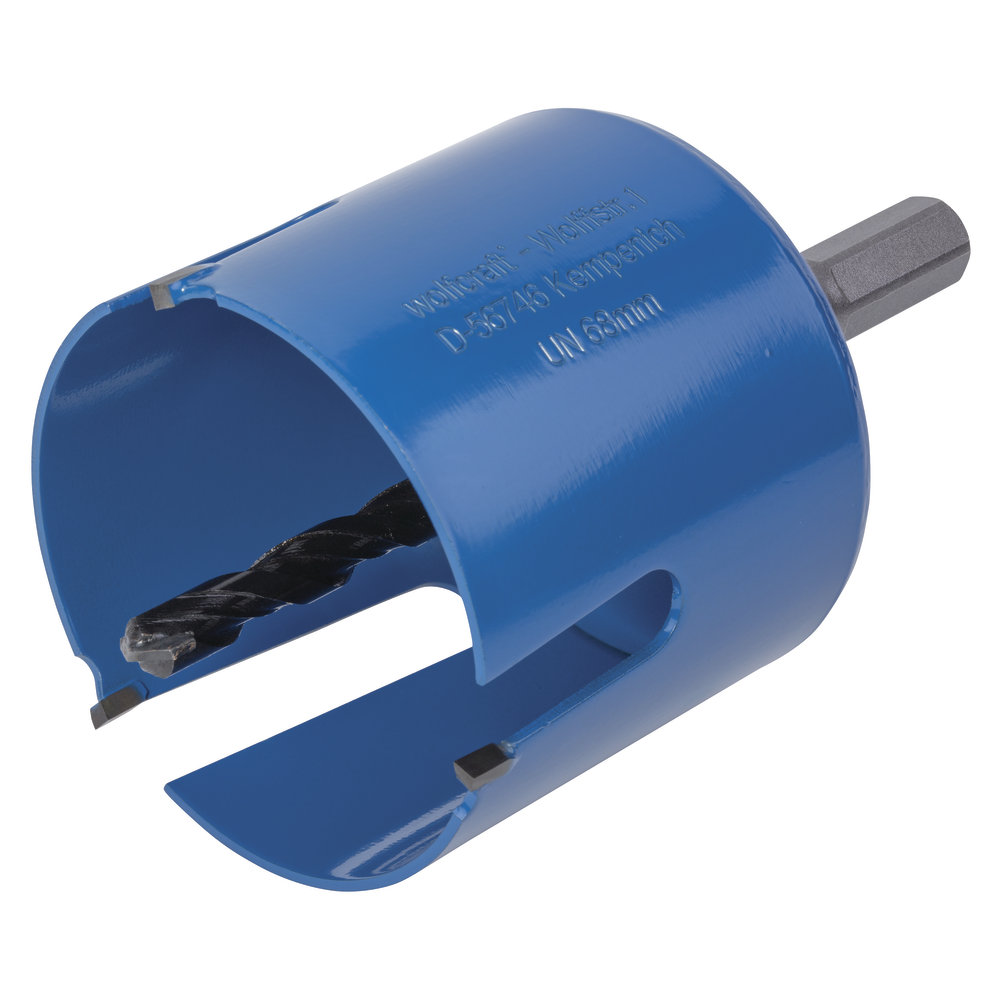 Wolfcraft Univerzálná dierovka 127mm s 6-hr.stopkou a vrtákom, hl.60mm 5961000