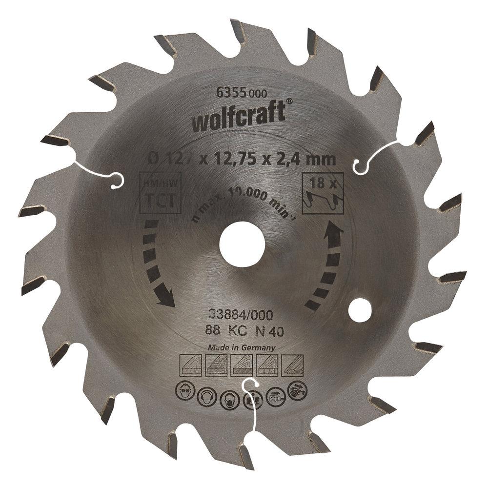 Wolfcraft pílový kotúč stredne hrubé rezy ø235x30 Z34 6385000