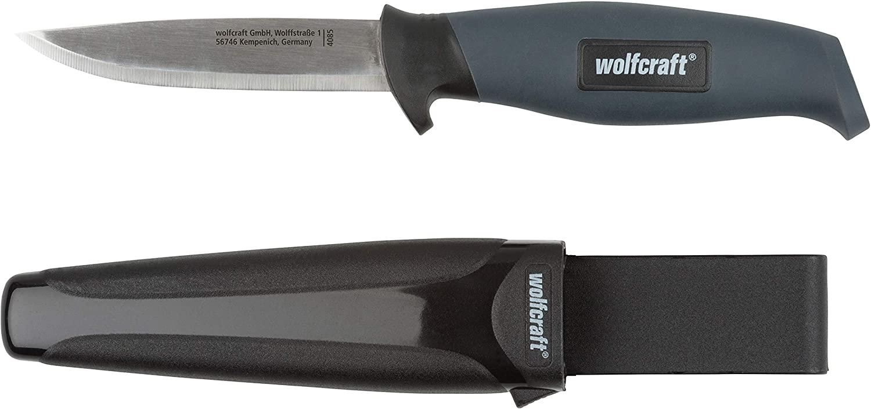 Wolcraft záhradný nôž s hladkou čepeľou 95 mm 4085000