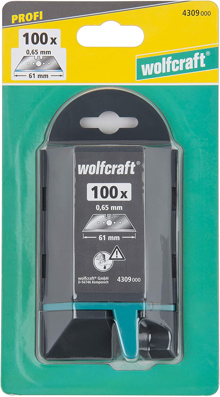 Wolfcraft 100 x profesionálny trapézové čepele 4309000