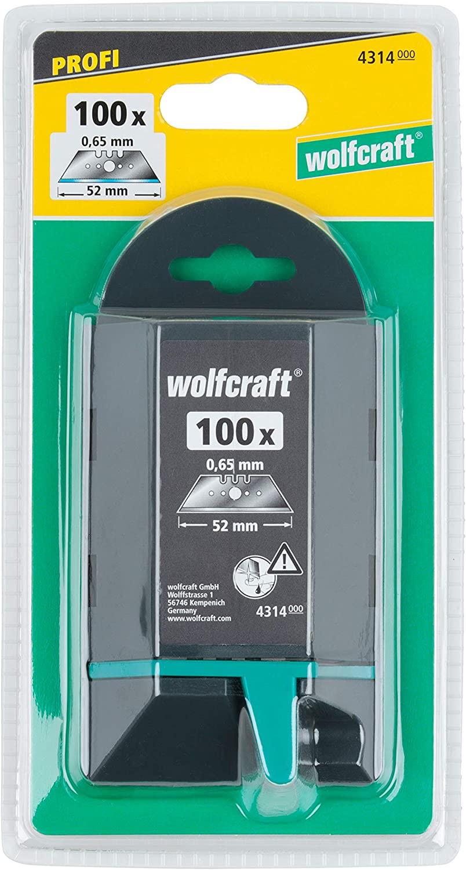 Wolfcraft 100 x profesionálny trapézové čepele 4314000