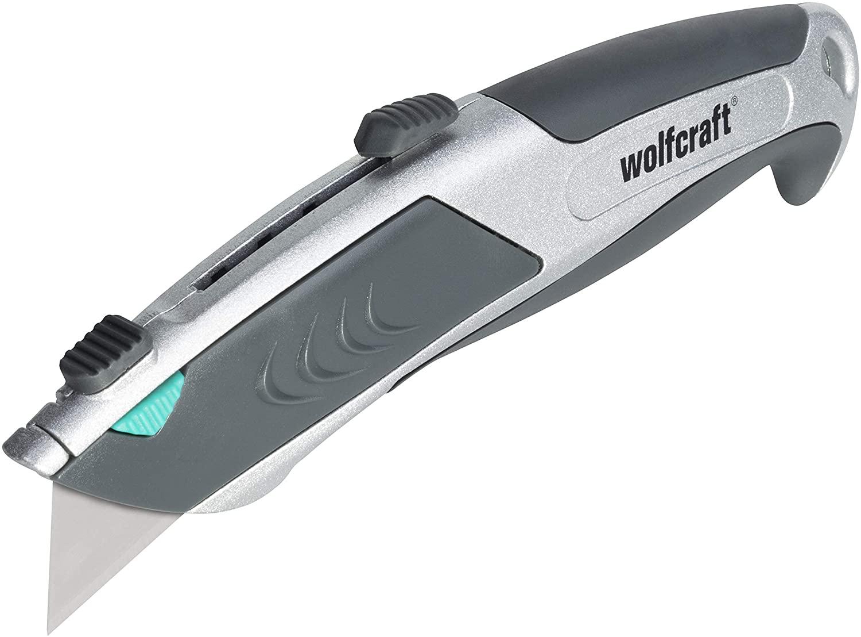 """Wolfcraft profesionálny nôž s trapézovou čepeľou """"Auto-Load"""" 4320000"""