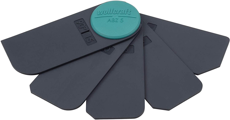 Wolfcraft hladidlo na škáry - profesionálna súprava 5 ks 4332000