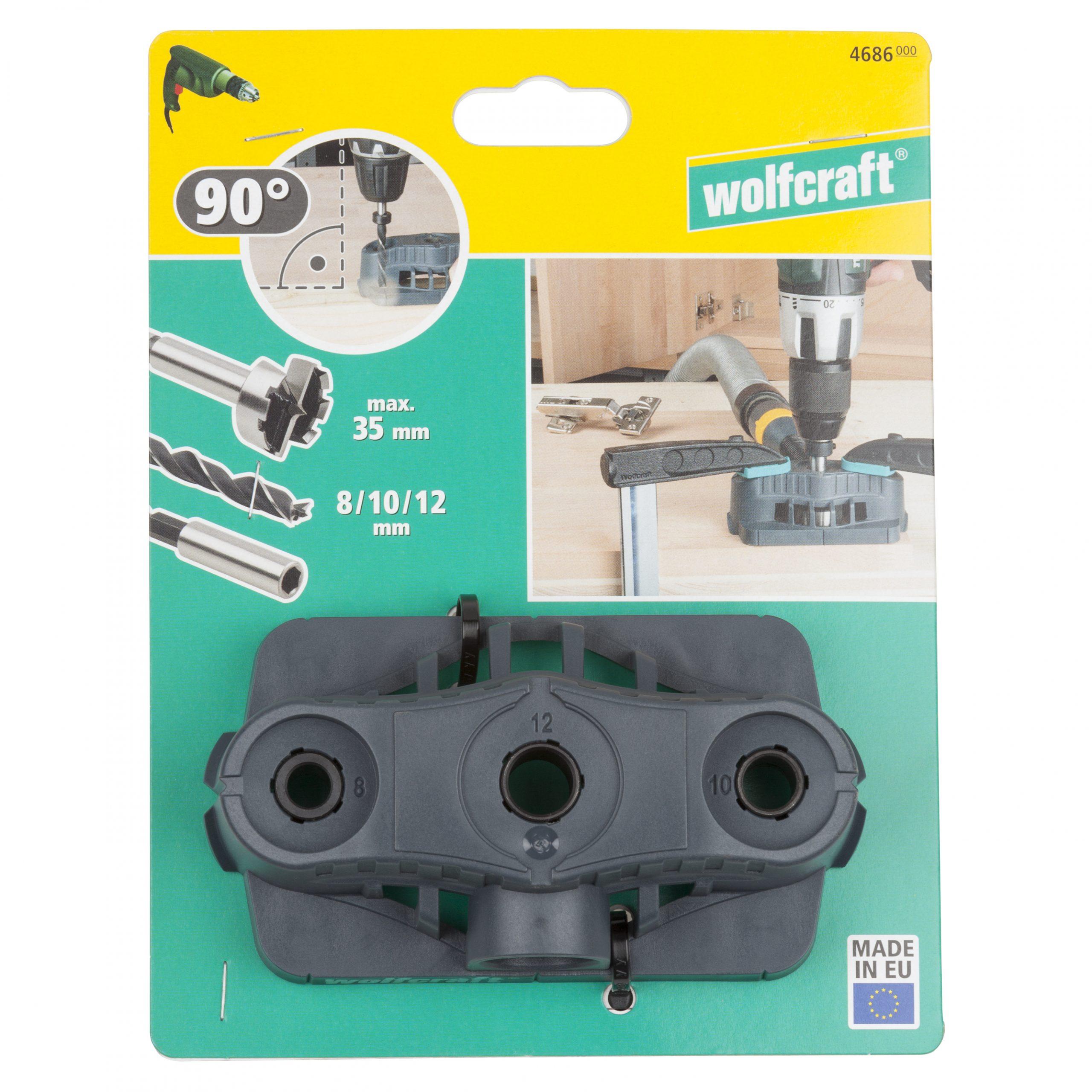 Wolfcraft vŕtacie pomôcka pre vrtáky Forstner 4686000