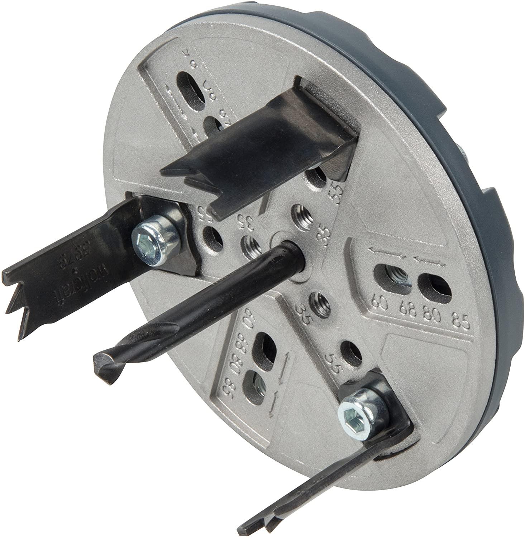 Wolfcraft nastaviteľná dierovka SANITA 35-83 mm 5984000
