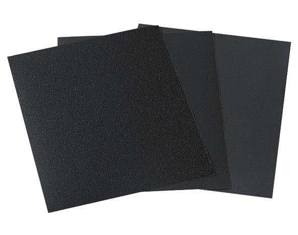 Wolfcraft 16 x arch brúsneho papiera mokrý/suchý  3119000