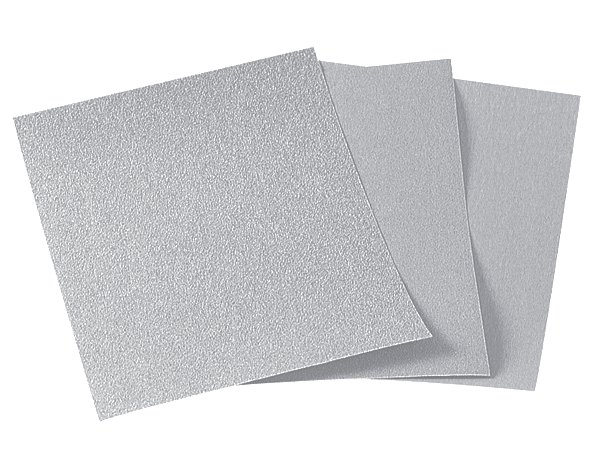 Wolfcraft arch brúsneho papiera zrno 400 barva/lak  6018000