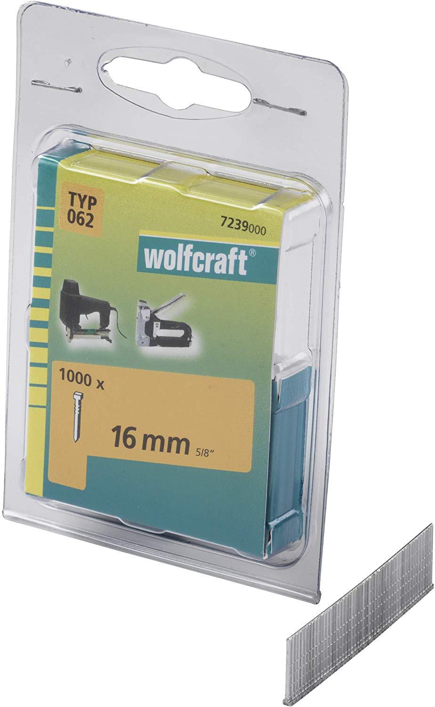 Wolfcraft Klince dĺžka 16 mm 1000 ks 7239000