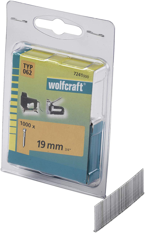 Wolfcraft Klince dĺžka 19 mm 1000 ks 7241000