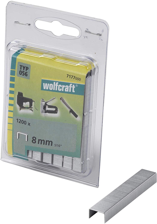Wolfcraft Úzke sponky do sponkovačky výška 30 mm 1000 ks 7173000