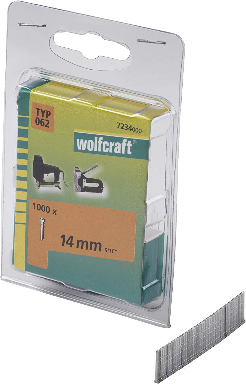 Wolfcraft Klince dĺžka 14 mm 1000 ks 7234000